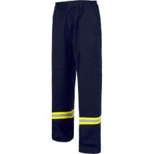 Pantalón azul con reflectivo