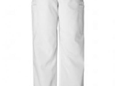 pantalón blanco con cordón