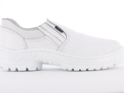 zapato blanco con elastico